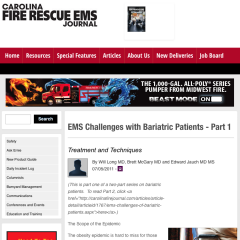 EMS Challenges with Bariatric Patients