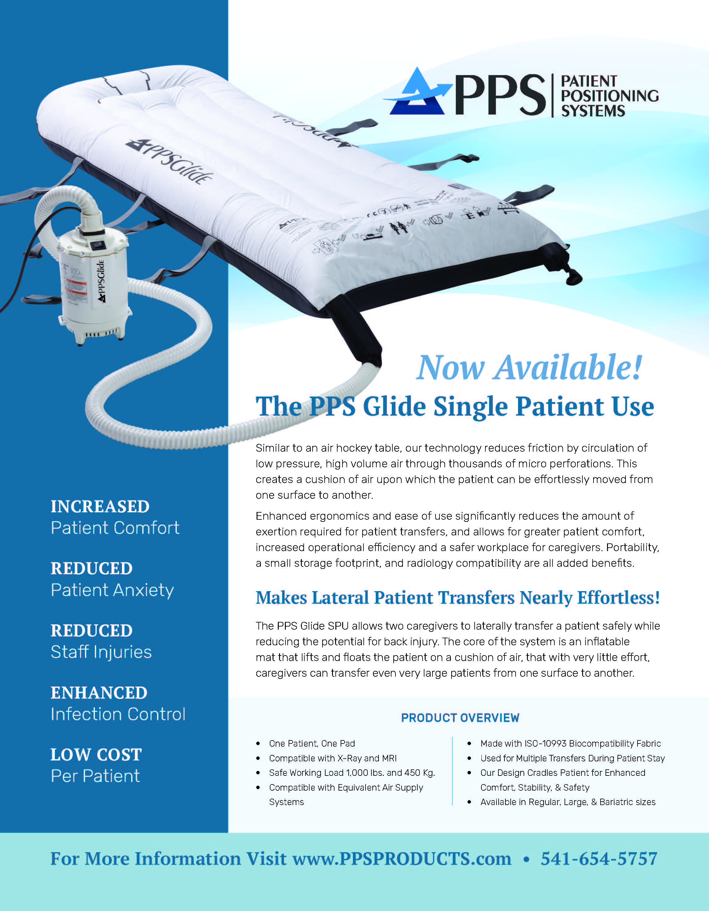 Glide Single Patient Use Brochure